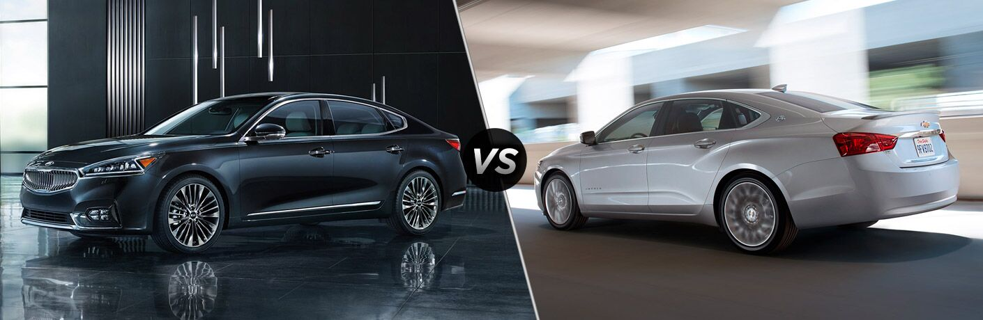 2017 Kia Cadenza vs. 2017 Chevy Impala Clearwater St. Petersburg FL