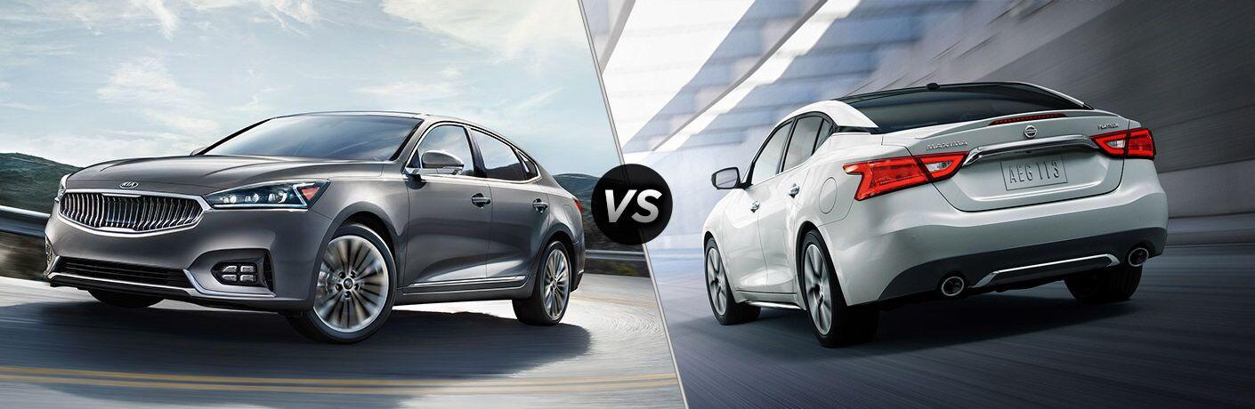 2017 Kia Cadenza vs. 2017 Nissan Maxima Tampa FL