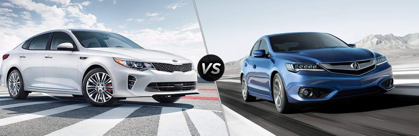 2018 Kia Optima vs. 2017 Acura ILX Tampa FL