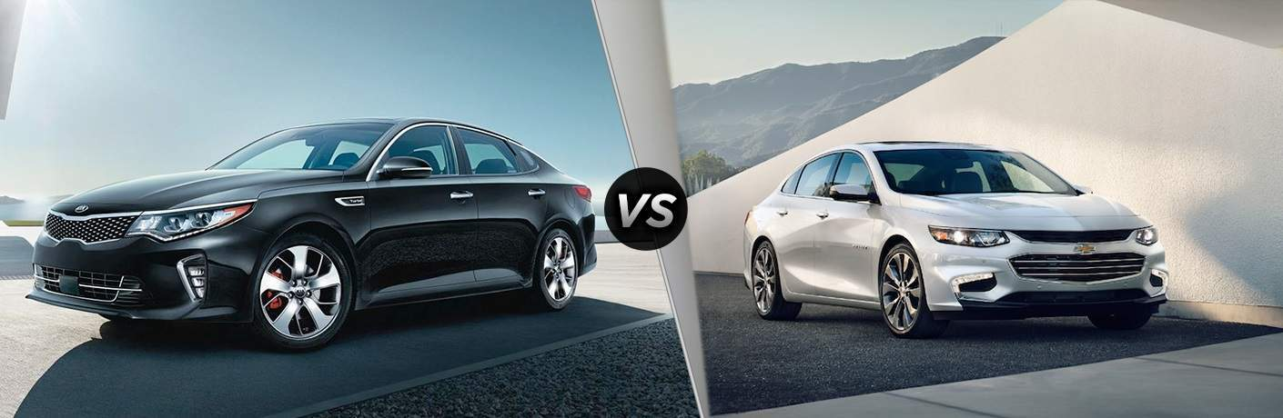 2018 Kia Optima vs. 2018 Chevrolet Malibu