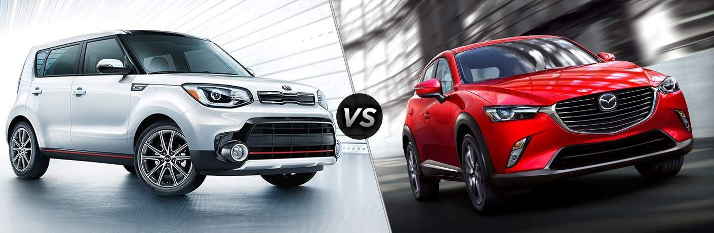 2018 Kia Soul vs. 2018 Mazda CX-3