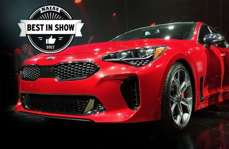 2018 Kia Stinger Best in show 2017 NAIAS