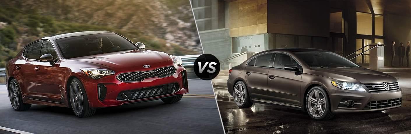 2018 Kia Stinger vs. 2017 VW CC