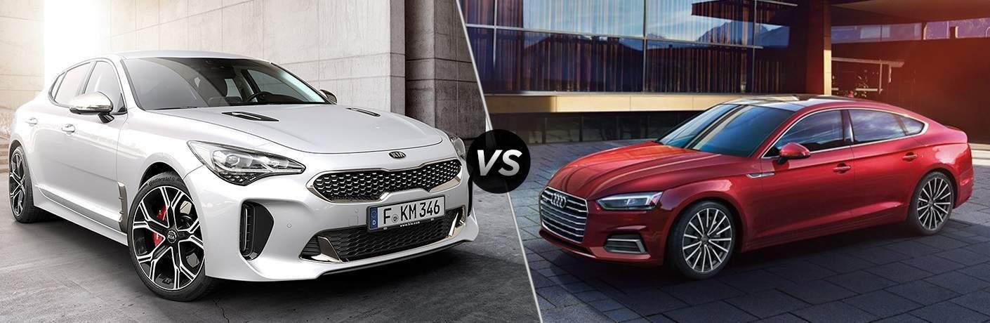 2018 Kia Stinger vs. 2018 Audi A5 Sportback 2.0 Prestige