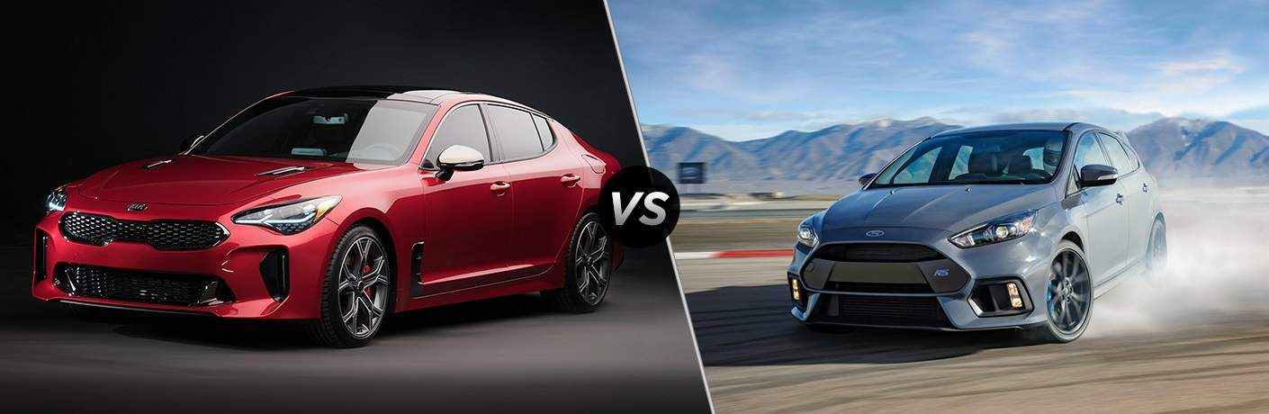 2018 Kia Stinger vs. 2018 Ford Focus RS