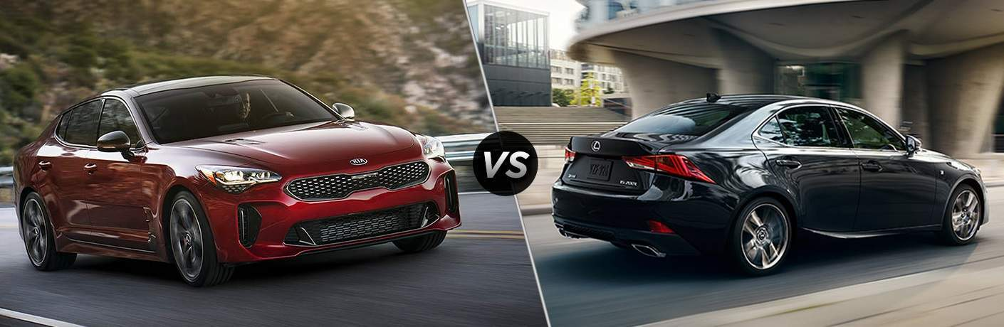 2018 Kia Stinger vs. 2018 Lexus IS 350 Sport