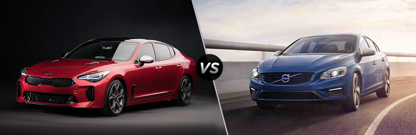 Kia Stinger Msrp >> 2018 Kia Stinger V6 vs. 2018 Volvo S60 R-Design