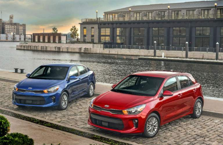 Kia Rio and Kia Rio 5-Door subcompacts