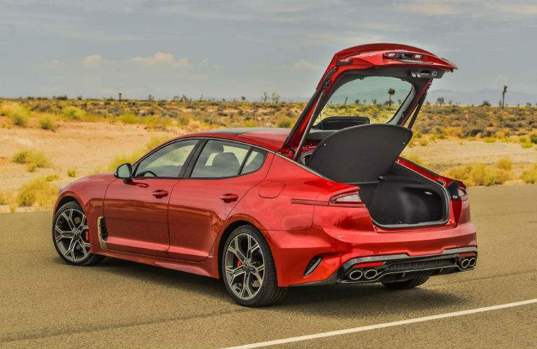 Kia Stinger rear hatch