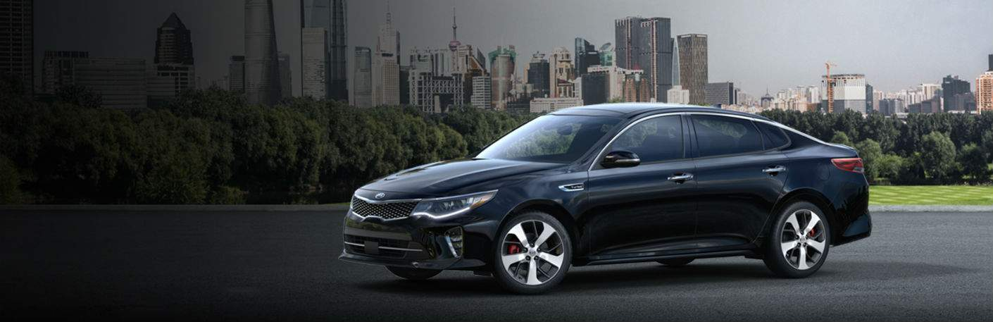 2018 Kia Optima midsize sedan vs. 2017 Kia Optima New Port Richey FL