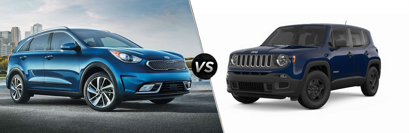 2018 Kia Niro vs 2018 Jeep Renegade