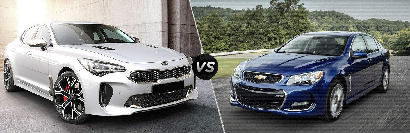 2018 Kia Stinger Gt Vs 2017 Chevrolet Ss Friendly Kia