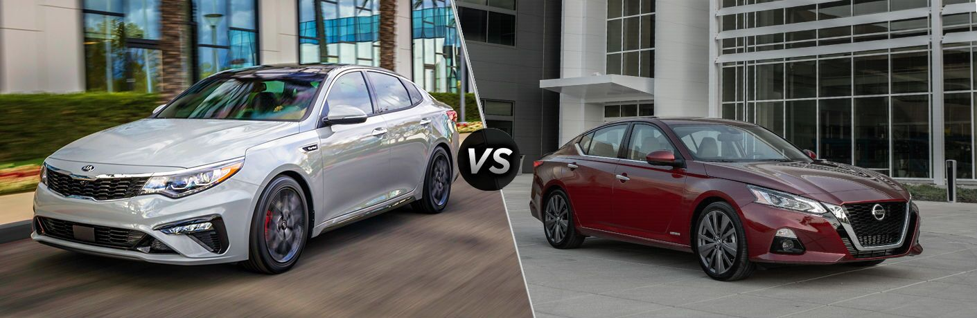 2019 Kia Optima Vs Nissan Altima