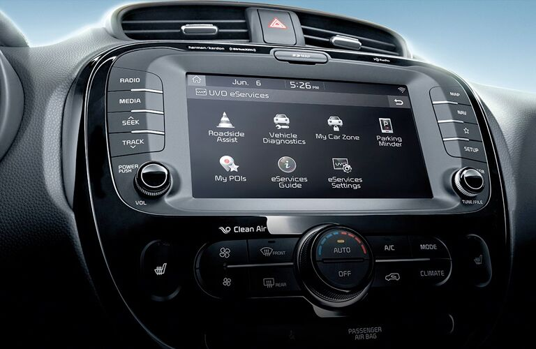 infotainment system in 2019 kia soul