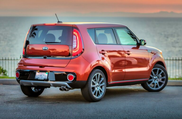 rear of 2019 kia soul