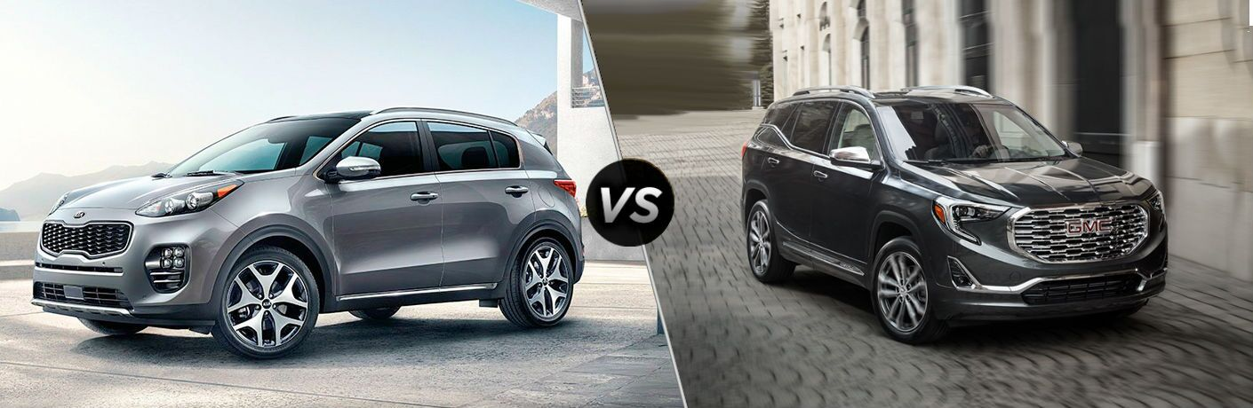 2019 kia sportage vs 2019 gmc terrain comparison image