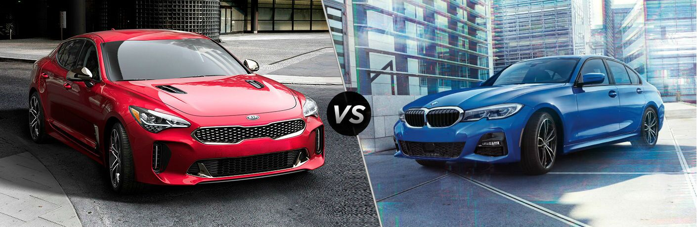 2019 Kia Stinger Vs. 2020 BMW 3 Series