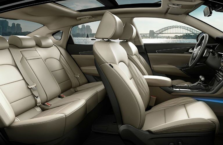 Seating in 2020 Kia Cadenza