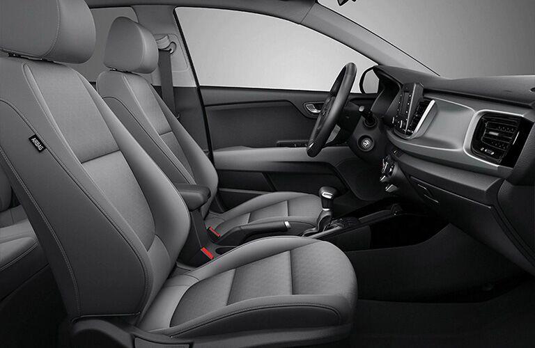 Front seats in 2020 Kia Rio 5-Door