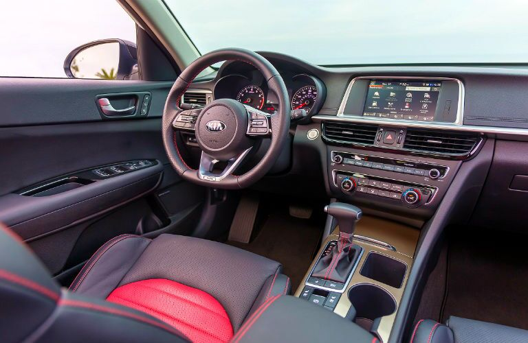interior of 2020 kia optima