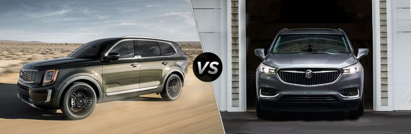 2020 Kia Telluride Vs Buick Enclave Friendly Kia
