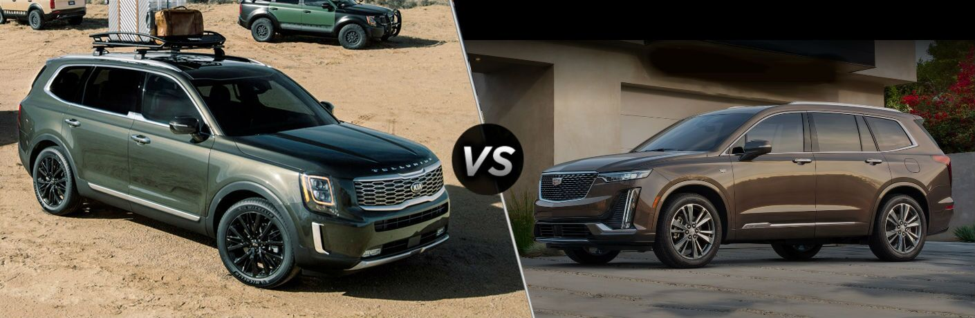 2020 Kia Telluride Vs. 2020 Cadillac XT6 comparison