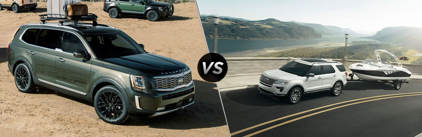 2020 Kia Telluride Vs 2019 Ford Explorer Friendly Kia
