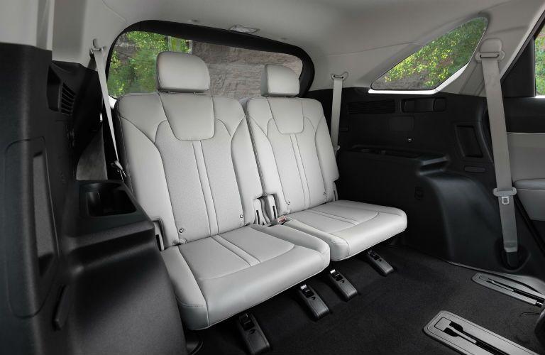 Rear seats in 2021 Kia Sorento Plug-in Hybrid