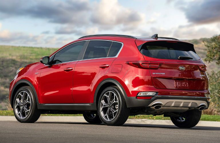 Red 2021 Kia Sportage