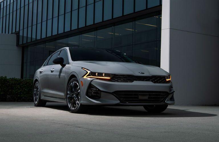 Grey 2021 Kia K5