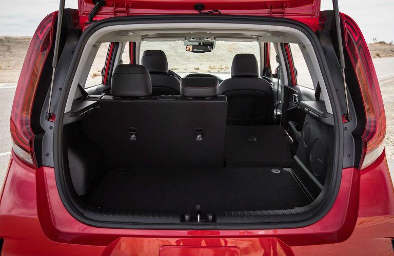 Open trunk of 2021 Kia Soul