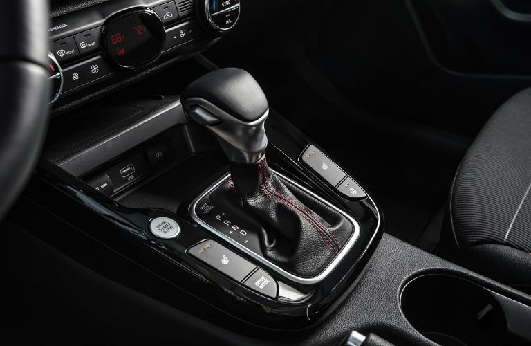 Gear shift in 2021 Kia Soul