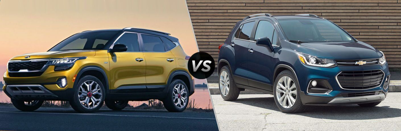 2021 Kia Seltos Vs 2020 Chevrolet Trax Friendly Kia