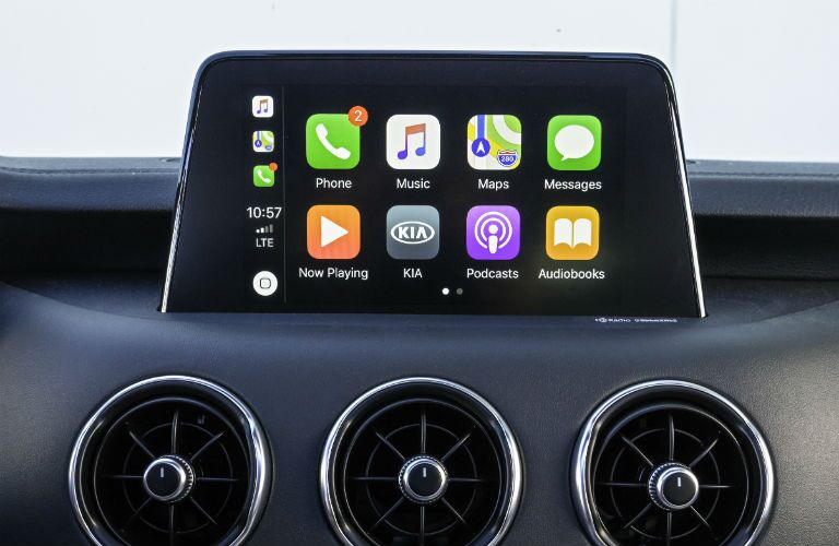 carplay in 2019 kia stinger