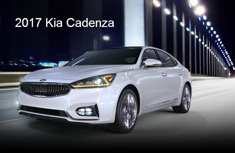 Color options for new Kia models 2017 Cadenza