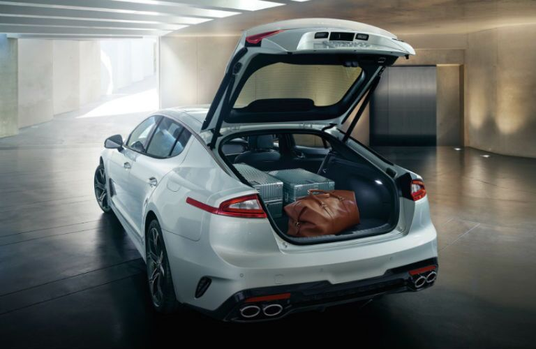 cargo space in 2020 kia stinger gt