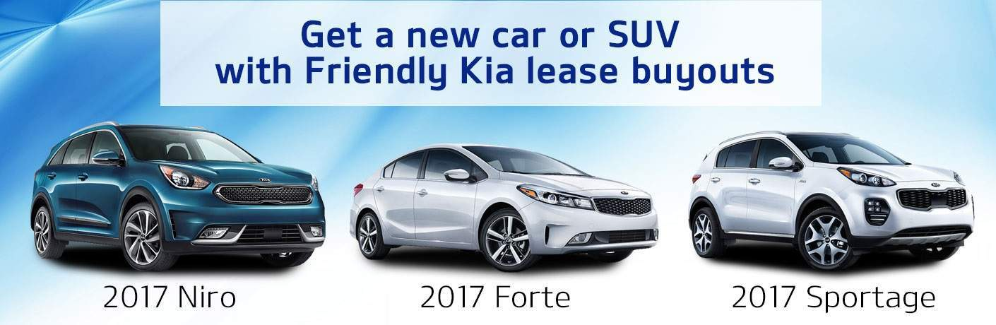 Friendly Kia Lease Buyouts older Kia models for new Kia models