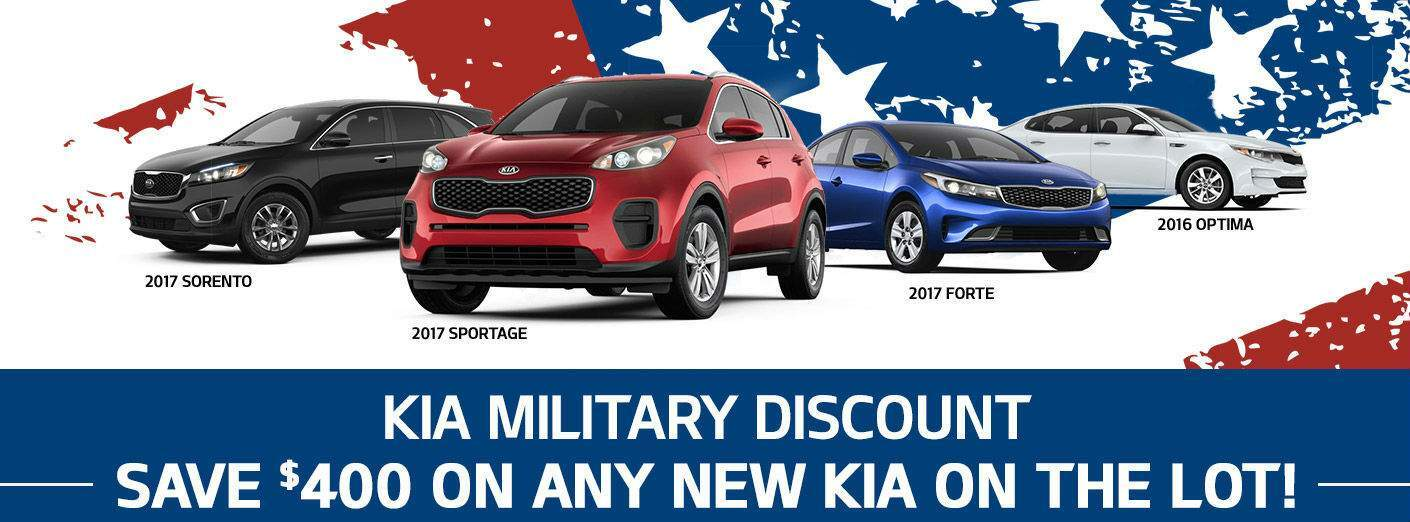 Kia military discount Tampa FL