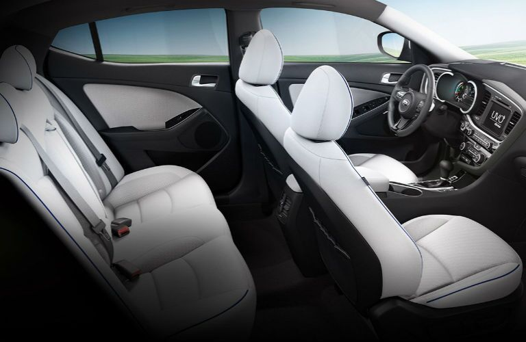 2016 Kia Optima Hybrid interior
