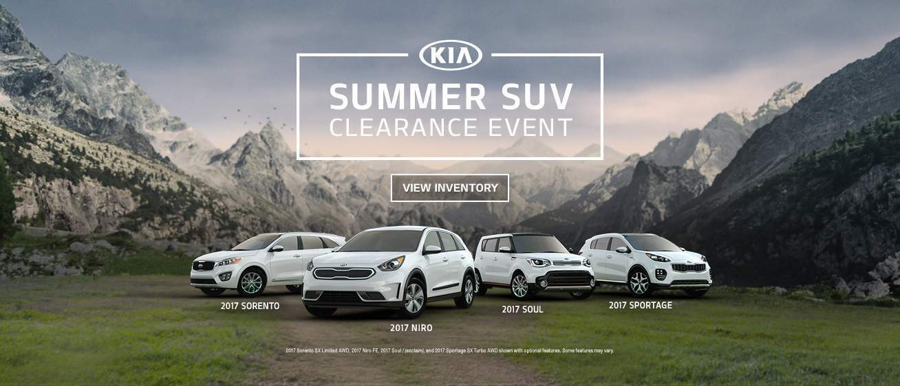 Summer SUV Clearance Event Tampa FL