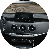 infotainment system in 2020 kia stinger gts