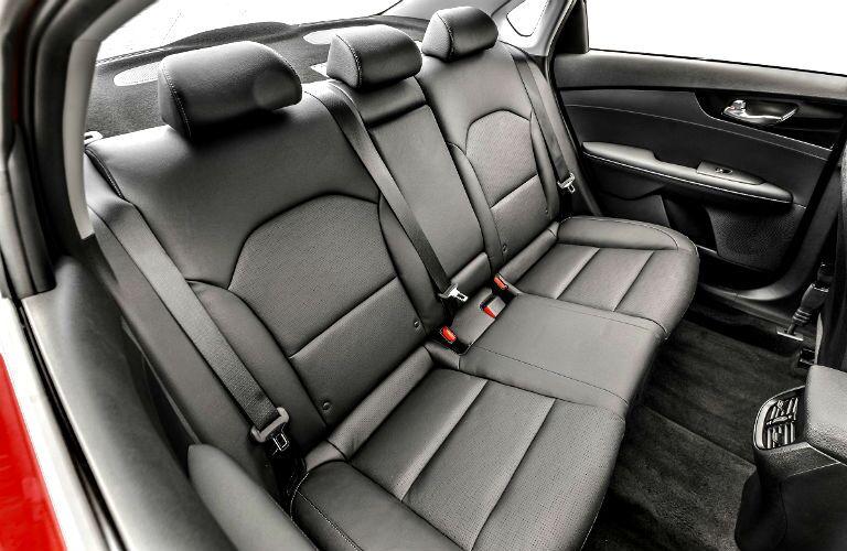 rear seating in 2020 kia forte gt