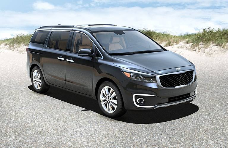 Kia Sedona award winning size towing