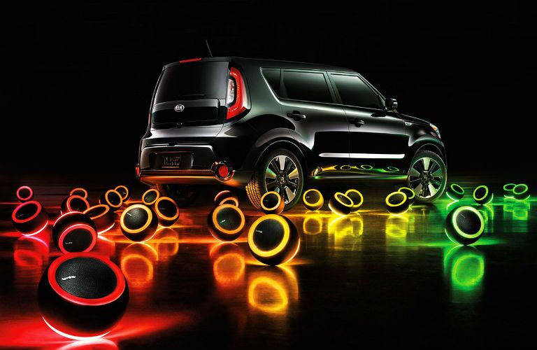 2016 Kia Soul vs 2016 Nissan JUKE crossovers mood lights fun design Tampa St. Petersburg FL