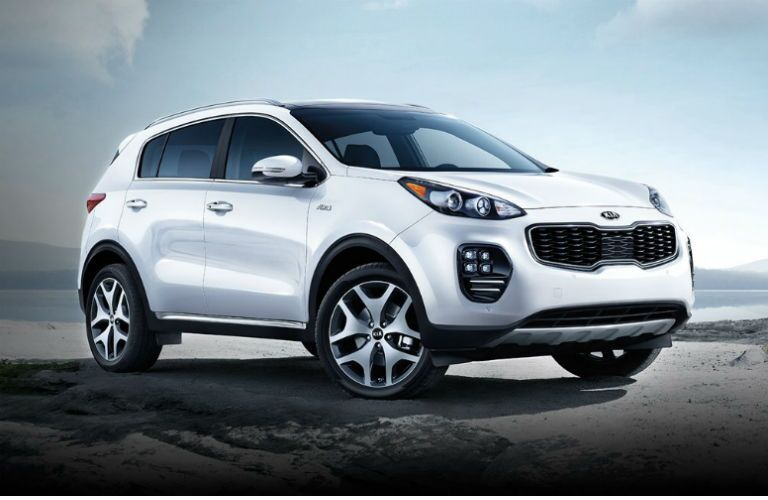2017 Kia Sportage vs 2016 Nissan Rogue small SUVs UVO3 redesign Clearwater St. Petersburg FL
