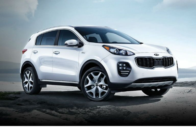 Kia Sportage small SUV redesigned for 2017 St. Petersburg FL