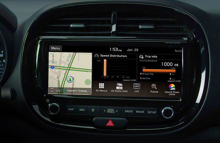 infotainment in 2020 kia soul
