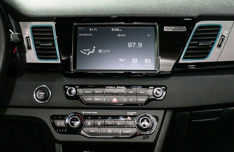 UVO infotainment system in 2019 Kia Niro EV