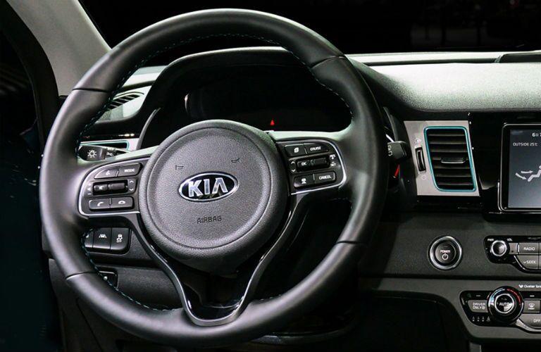 steering wheel in 2019 kia niro ev