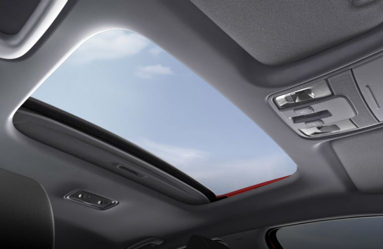 panoramic sunroof in 2020 kia forte